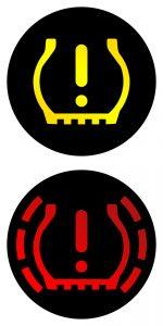 image of tpms dash warning symbol