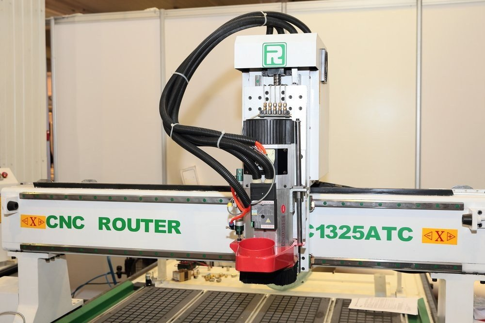 demonstration of commercial-grade CNC robot