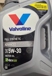 image of valvoline 5w-30 1gallon