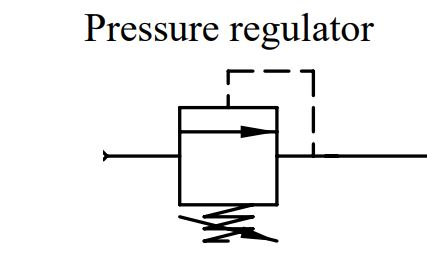 pressure regulator wiring schematic symbol