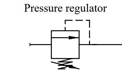 pressure regulator wiring schematic symbol