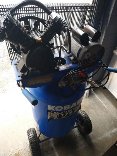 two stage kobalt compressor